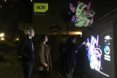 ADE video mapping RADION